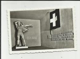 MINI FOTO CM 9 X 6  CI DIFENDIAMO SEZIONE IL PAESE E IL POPOLO H. BRANDENBERGER   J. GABERELL THALWIL - Luoghi