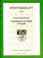 GERMANY, 1981, Ersttagblatt Nr 3,  Renaissance Der Stadte In Europa - [7] Federal Republic