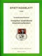 GERMANY, 1981, Ersttagblatt Nr 5,  Integration Auslaendischer Arbeitnehmerfamilien - [7] Federal Republic