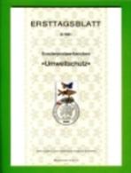 GERMANY, 1981, Ersttagblatt Nr 6,  Umweltschutz - [7] Federal Republic