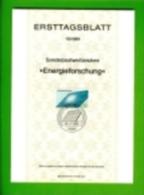 GERMANY, 1981, Ersttagblatt Nr 15,,  Energieforschung - [7] Federal Republic