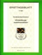 GERMANY, 1981, Ersttagblatt Nr 17,,  Entwicklungs-zusammenarbe It - [7] Federal Republic