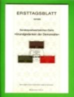 GERMANY, 1981, Ersttagblatt Nr 19,,  Grundgedanken Der Demokratie - [7] Federal Republic