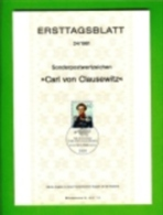 GERMANY, 1981, Ersttagblatt Nr 24, Carl Von Clausewitz - [7] Federal Republic