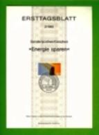 GERMANY, 1982, Ersttagblatt Nr 2, Energie Sparen - [7] Federal Republic