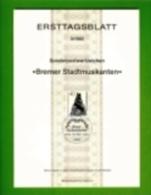 GERMANY, 1982, Ersttagblatt Nr 3, Bremer Stadtmusikanten - [7] Federal Republic