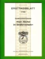 GERMANY, 1982, Ersttagblatt Nr 17,  Kein Alkohol Im Strassenverkehr - [7] Federal Republic