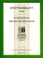 GERMANY, 1982, Ersttagblatt Nr 19,  Max Born Und James Franck - [7] Federal Republic