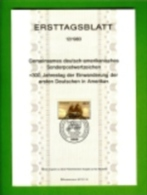 GERMANY, 1983, Ersttagblatt Nr 12,  Concord 1683 - [7] Federal Republic