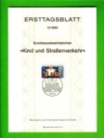 GERMANY, 1983, Ersttagblatt Nr 13,  Kind Und Strassenverkehr - [7] Federal Republic