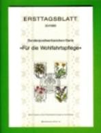 GERMANY, 1983, Ersttagblatt Nr 20,  Wohlfahrtsplege - [7] Federal Republic