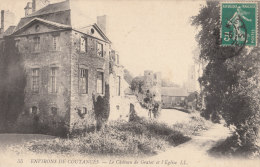 50 Vers COUTANCES  CHATEAU De GRATOT  Chemin Champêtre EGLISE Du VILLAGE - Barneville