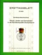 GERMANY, 1983, Ersttagblatt Nr 23,  Bund. Laender Un Gemeinden - [7] Federal Republic