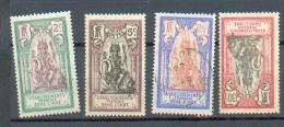 INDE 256 - YT 49*-50*-52 Obli-53* - India (1892-1954)