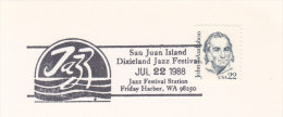1988 USA San Juan Island Dixieland Jazz Festival Music - Music