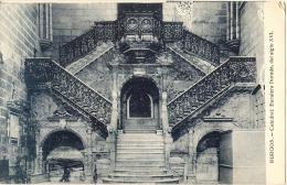 BURGOS  Catedral Escalera  Dorada - Unused TTB - Burgos