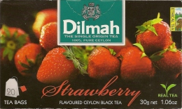 DILMAH - STRAWBERRY FLAVOURED 20 TEA BAGS - Befor Bid Read Description Carefully - Other Collections