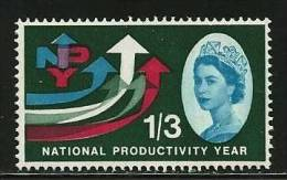 Gran Bretagna  - 1962 -  N. 369 ** - Cat.  2,80  €  -  Lotto 447 - 1952-.... (Elisabetta II)