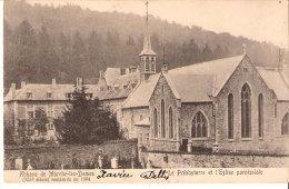 Abbaye De Marche-les-Dames -XIIe Siècle-(Namur)-1906- Le Presbytère Et L´Eglise Paroissiale Restaurée En 1904-Précurseur - Namur