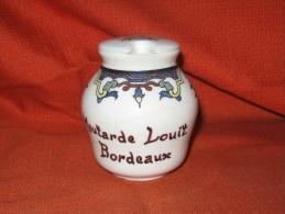 1 Pot A Moutarde Louit Bordeaux - Sonstige