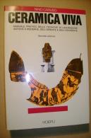 PBS/16 N.Caruso CERAMICA VIVA Hoepli 1993/Decorazione A Terzo Fuoco/forni/raku/prodotti /Materiali E Attrezzatura - Arte, Architettura