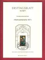 GERMANY-BERLIN 1977, Ersttagblatt Nr 15, Weihnachtsmarke (Block) - [5] Berlin