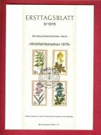 GERMANY-BERLIN 1978, Ersttagblatt Nr 9, Wohlfahrtsmarken - [5] Berlin