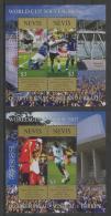 Nevis (2002)  Yv. Bf. 223/24  /  Soccer - Futbol - Calcio - Football - FIFA World Cup Japan - Korea - Wereldkampioenschap