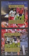Nevis (2002)  Yv. Bf. 219/20  /  Soccer - Futbol - Calcio - Football - FIFA World Cup Japan - Korea - Wereldkampioenschap