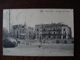 CPA  HEYST Sur MER La Plage - Belgique