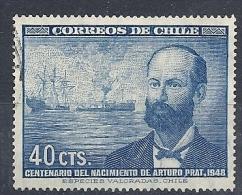 130203190  CHILE YVERT   Nº  220 - Chili