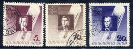SOVIET UNION 1934 Stratosphere Disaster Victimes  Used.  Michel 480-82 - 1923-1991 USSR