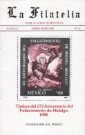 G)1987 GUADALAJARA-MEXICO, HIGHLY SPECIALIZED ON MEXICAN PHILATELY, LA FILATELIA PUBLICATION SEMESTRAL PUBLICATION MAGAZ - Mexico