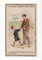 Chromo  GUERIN BOUTRON   Homme Et Son Fils - Guérin-Boutron