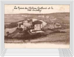 CPA  27  LES ANDELYS  / RUINES DU CHATEAU ET PETIT ANDELYS - Les Andelys