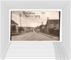 ANCIENNE PHOTO / ROUCEUX  / ROUTE DE NANCY - France