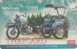 THAILAND - Thaicard By CAT Prepaid Card 500 Baht, Used - Thailand