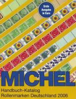 Handbuch Michel Katalog Deutschland Rollenmarken 2006 Neu 40€ Rollen-Briefmarke Preise EURO Special Catalogue Of Germany - Catalogues