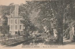 CPA 1535 CPM 27 Beaumont  Le Roger Manoir De Chantereine - Beaumont-le-Roger