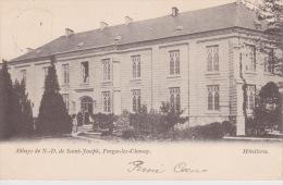 """Forges-lez-Chimay """" Abbaye De N.D. De Saint-Joseph ,  Hôtellerie """" 1903 -  Th. Van Den Heuvel,éditeur , Bruxelles - Chimay"""