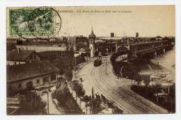 K24 - STRASBOURG - Les Ponts Du Rhin (Timbre Des JEUX OLYMPIQUES De 1924) - Strasbourg