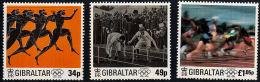 B5103 GIBRALTAR 1996, SG 776-8 Centenary Of Modern Olympic Games  MNH - Gibilterra