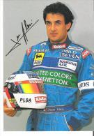 Automibilismo  -23- Jean Alesi - Cartoline