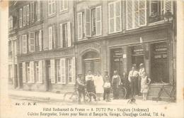 08 VOUZIERS HOTEL RESTAURANT DE FRANCE A. DUTU - Vouziers