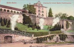 Germany Baden-Baden Ursprung der heissen Quellen Friedrichstolle