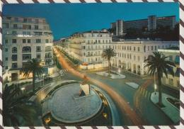 3AD372 ALGER ILLUMINEE PLACE EMIR ABDELKADER  2 SCANS - Alger