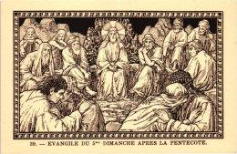 20 Cartes  En SEPIA - Rene De Cramer,   21-40   LES DIMANCHES ET JOURS DE FETE - ABBAYE DE SAINT ANDRE - Lophem - Chromos