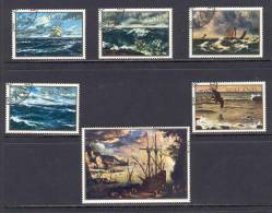 Sealand Paintings - Ships USED (D1066) - Schiffe