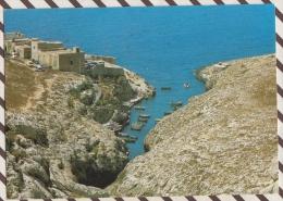 3AD376 VALLEY AND FISHING VILLAGE WIED IZ ZURRIEQ MALTA 2 SCANS - Malte