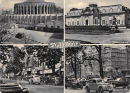 Allemagne (Duesseldorf) DUSSELDORF Multi Vues (Planetarium/Schloss Benrath/Köenigsallee)(aut O Voiture(Ed: Ludwig Simon) - Duesseldorf